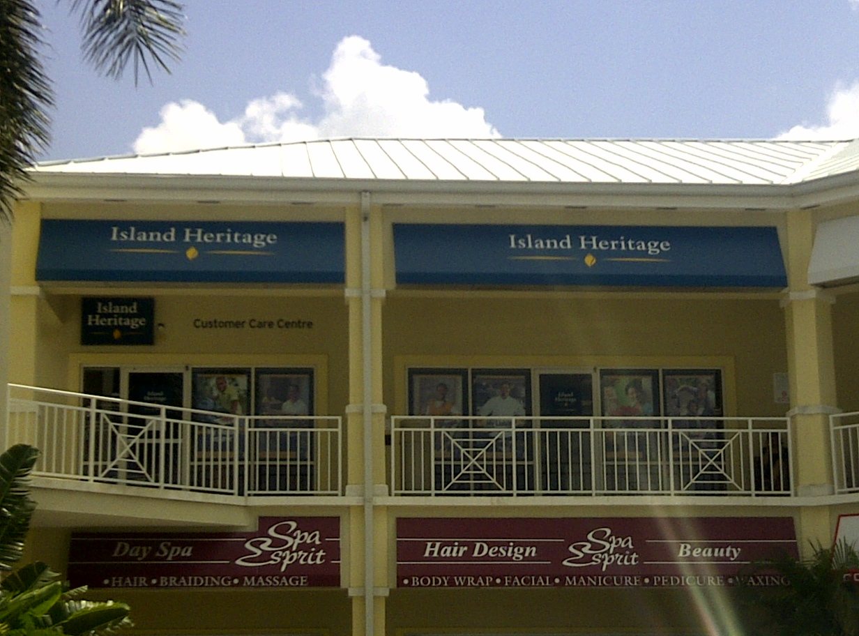 Awnings - Signs of Paradise by Vision Marketing, Cayman ...